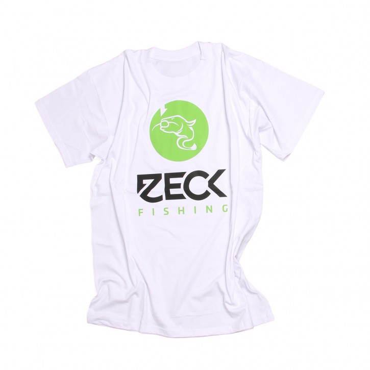 Zeck T-Shirt Catfish White- XXXXL