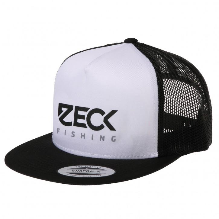 Zeck Trucker Snapback Cap B&W