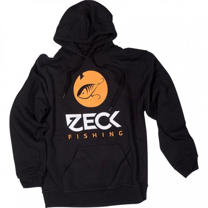 Zeck Fishing Hoodie Predator Black L