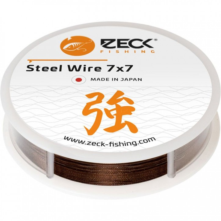 Zeck Fishing 7x7 Steel Wire 5 m 10,5 kg - 0,36 mm