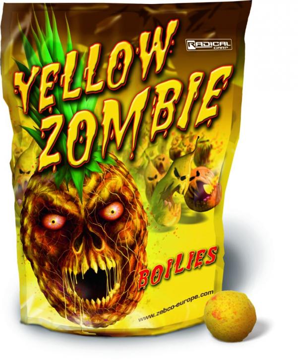 Quantum Radical Yellow Zombie Boilie 1 kg - 20 mm