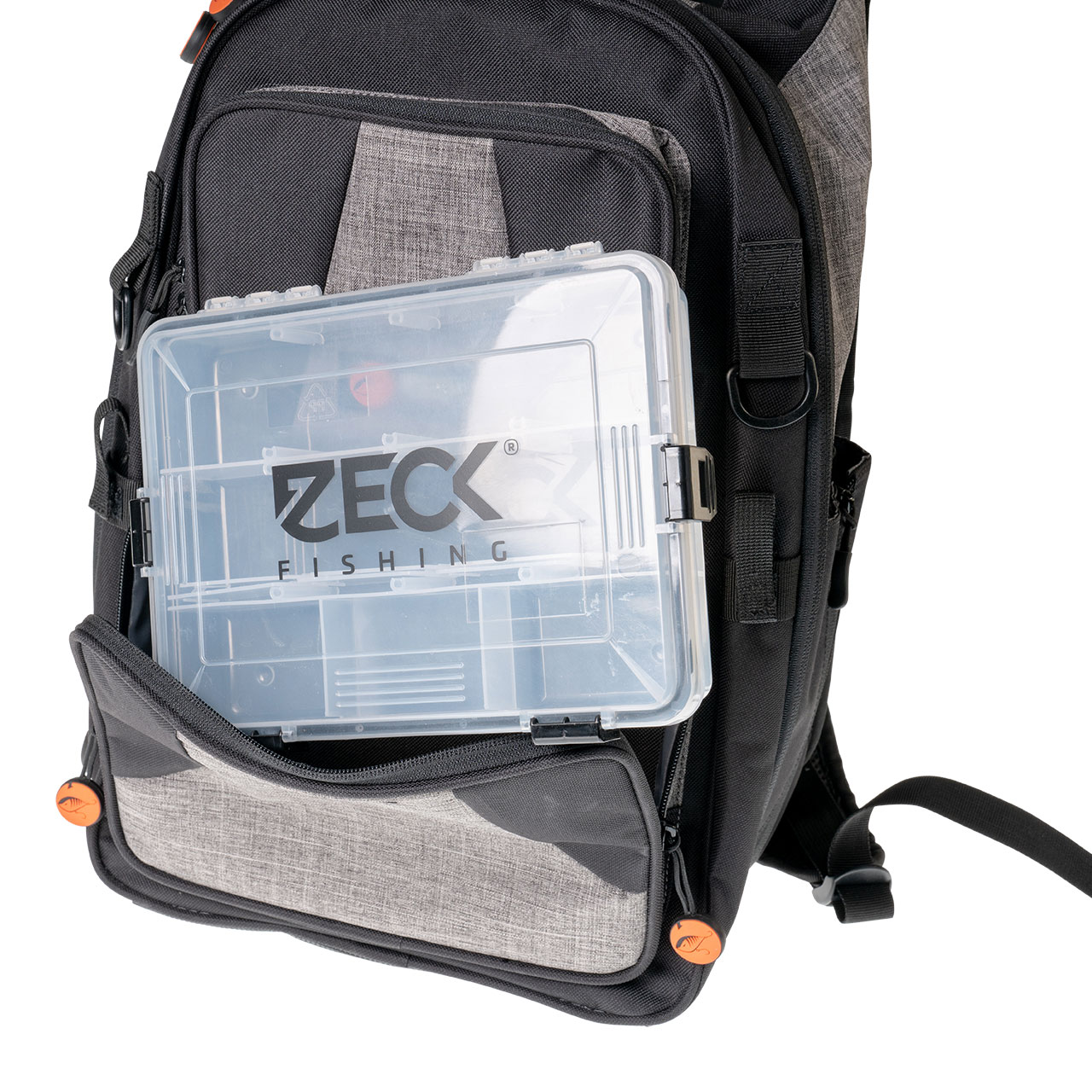 Zeck Raubfisch Backpack 24000 + Tackle Box WP S