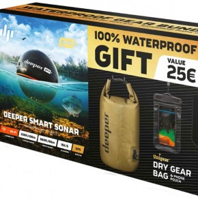 Deeper Smart Sonar PRO+ WiFi/GPS Summer-Bundle Waterproof