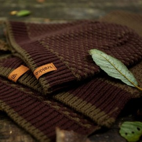Trakker Earth Hat & Scarf Set